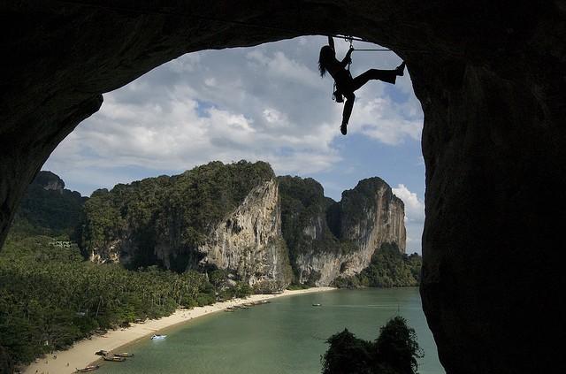 tonsai y la escalada en tailandia