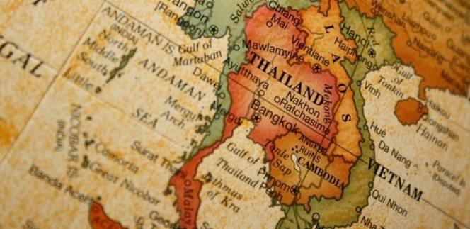 Mapa Tailandia 2020 Mapa De Tailandia Y Destinos Principales