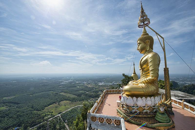 Le Temple du Tigre de Krabi ou Wat Tham Sua