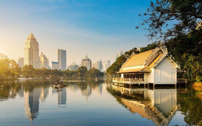 Lumpini Park, poumon vert de Bangkok
