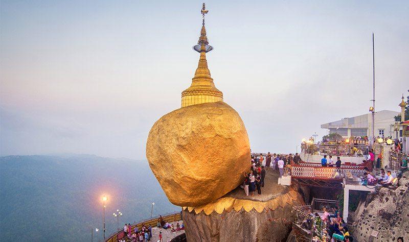 Golden Rock de Myanmar