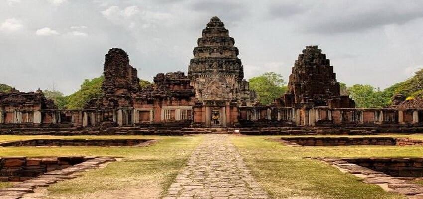 Itinéraire de voyage dans le nord-est de la Thaïlande