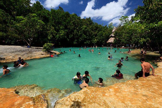 La piscine d'Emeraude et les sources chaudes de Krabi