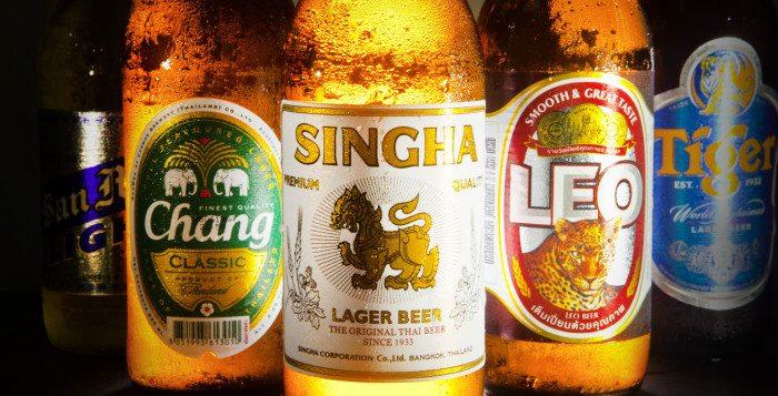 Cervezas de Tailandia