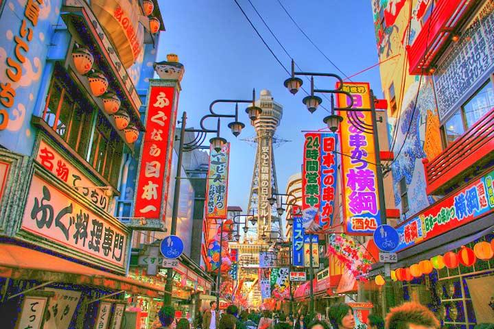 Shinsekai, el barrio mas pintoresco que podras conocer en Osaka
