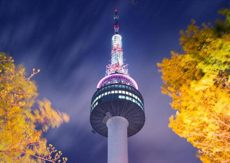 N Seoul Tower Disfruta De La Mejores Vista De Seúl